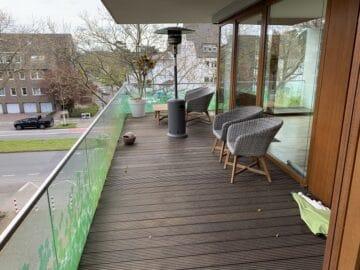 Helle 4 Zimmerwohnung am Zoopark, 40239 Düsseldorf, Etagenwohnung