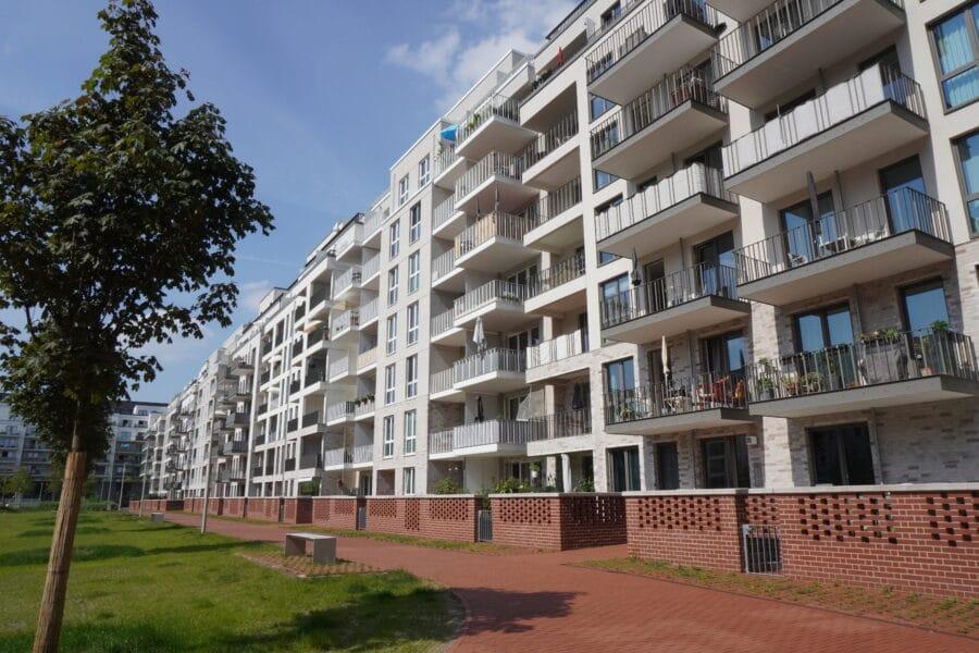 Skyline von Hamburg genießen! Süd/ West Balkon! - Bild
