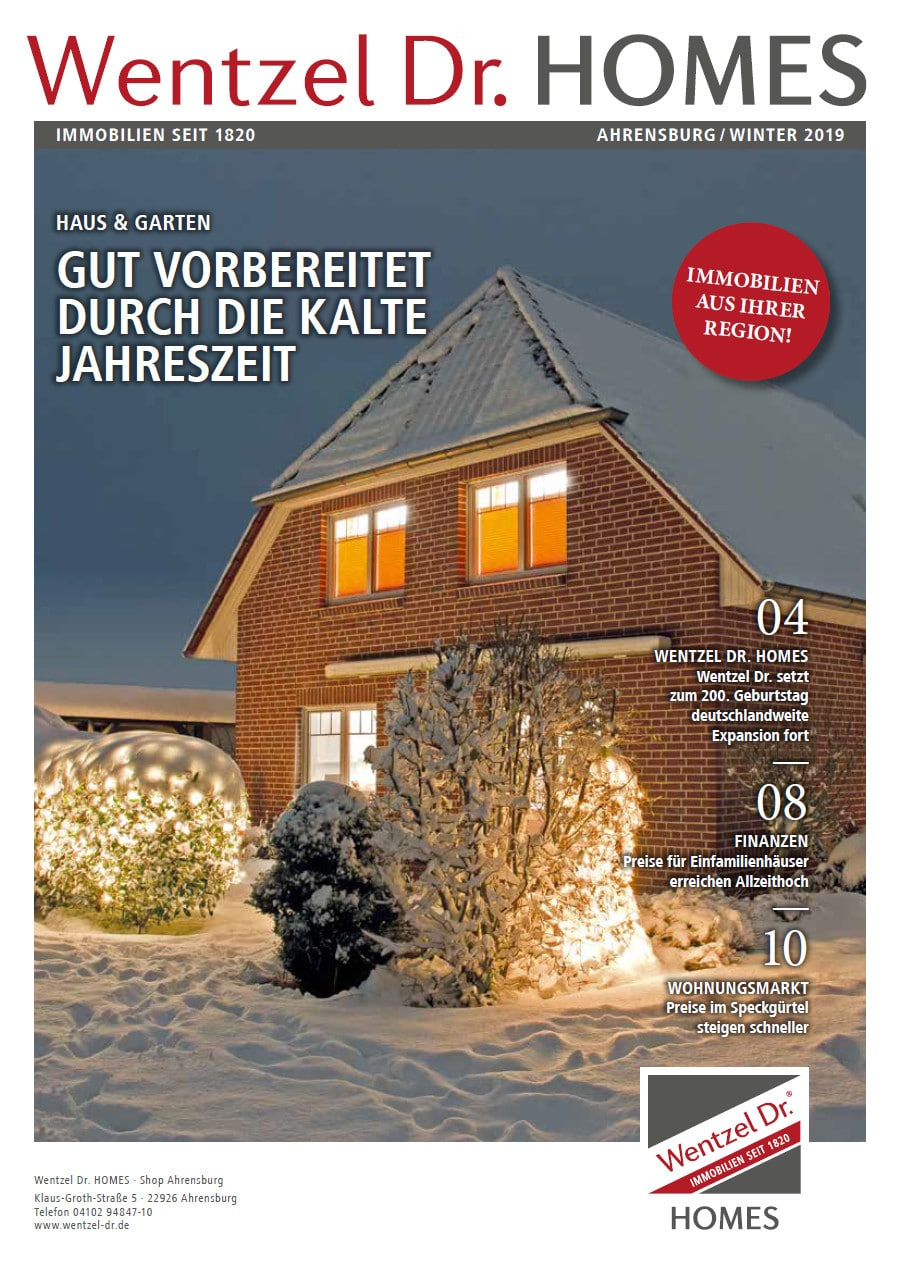 Wentzel Dr Magazin Ahrensburg Ausgabe 2 2019