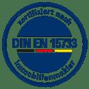 Wentzel Dr. nach DIN EN 15733 zertifiziert